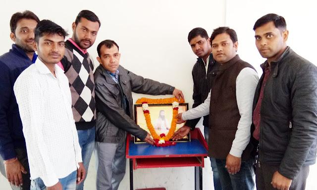 Akhil Bharatiya Vidyarthi Parishad celebrated the celebrated Saint Guru Ravidas Jayanti in Faridabad