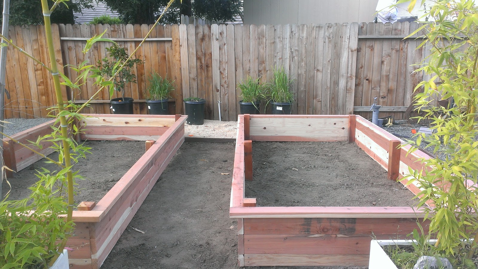 Above Ground Planter Box Plans