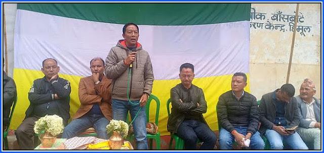 Binay Tamang starts Darjeeling Assembly bypoll campaign