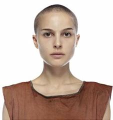 Evey Hammond V For Vendetta Bald Natalie Portman
