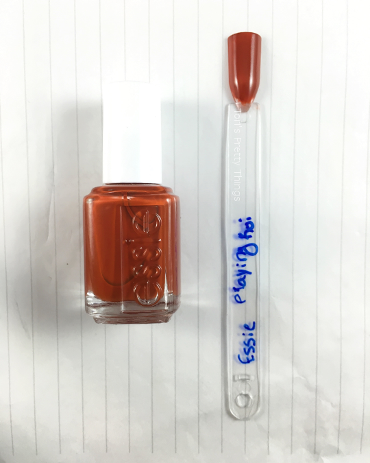 Tori's Pretty Things // Essie Playing Koi Swatch