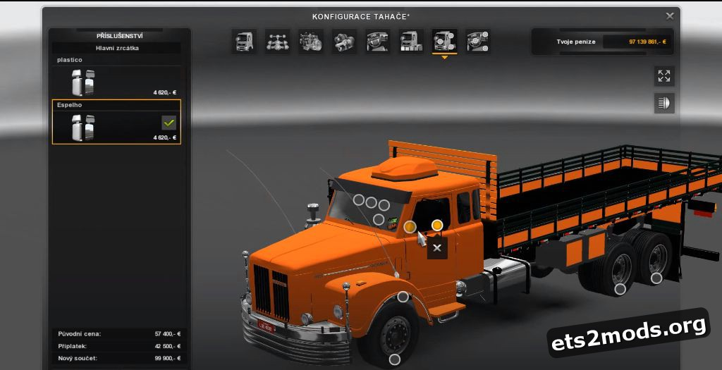 Truck - Scania 111S for 1.25 patch