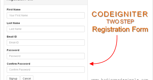 how to write api in code igniter form validation