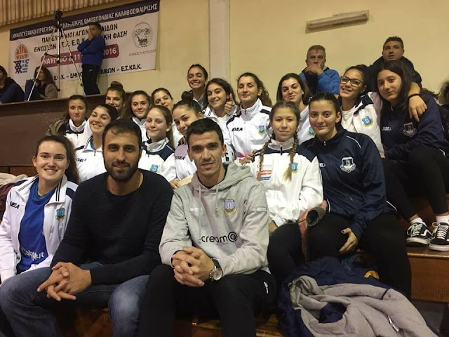 Ο διεθνής κεντρικός του Ολυμπιακού Ανδρέας Ανδρεάδης στο Τουρνουά Βόλεϊ Κορασίδων στο Ναύπλιο