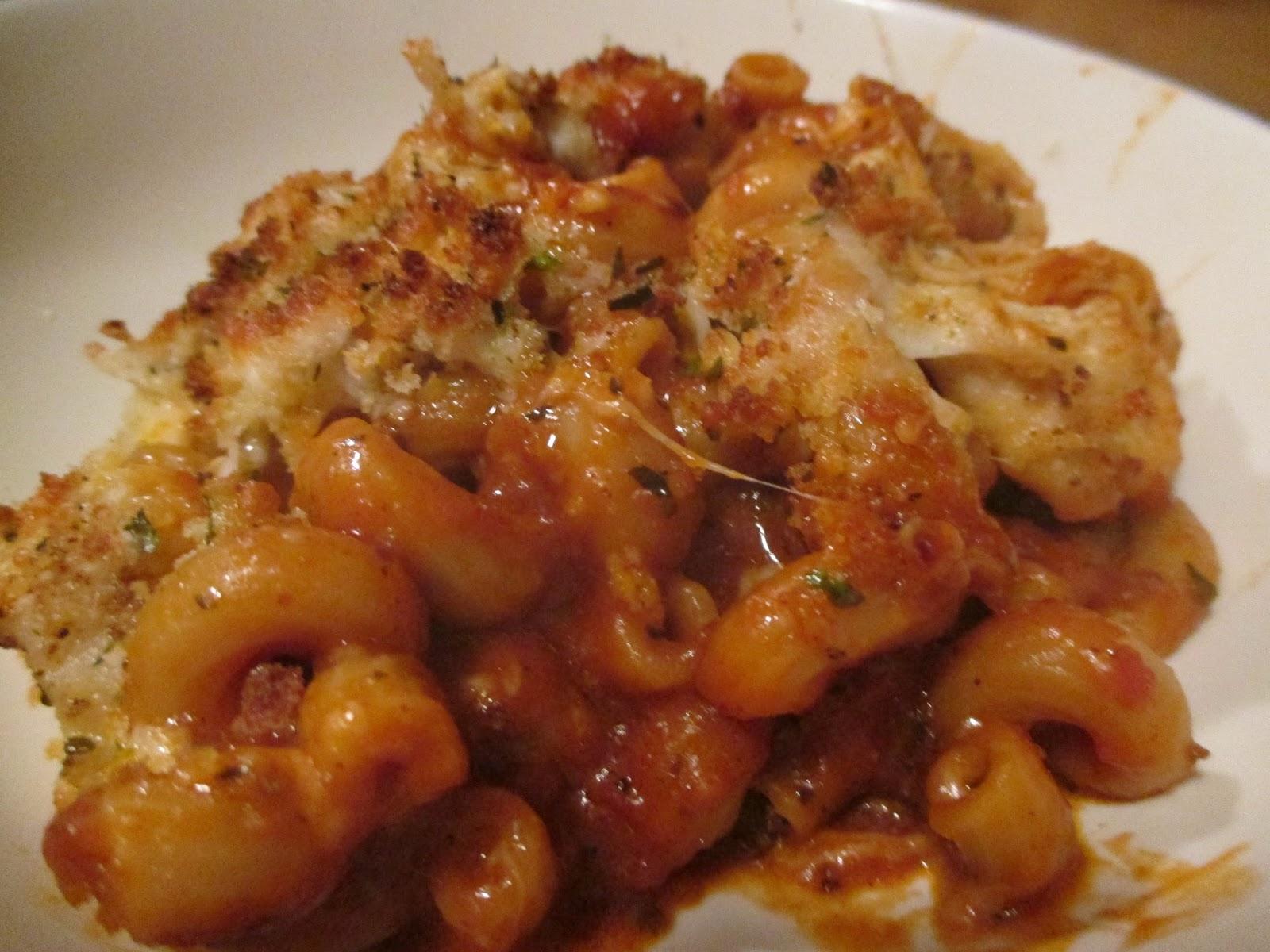 how to make chicken parmesan pasta