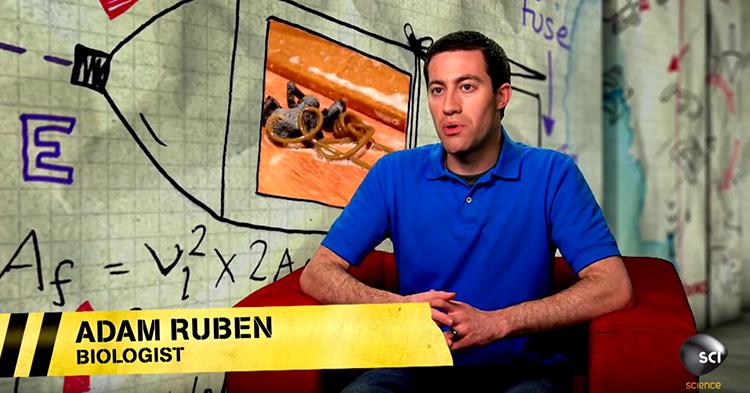 Adam Ruben, a Biologist.