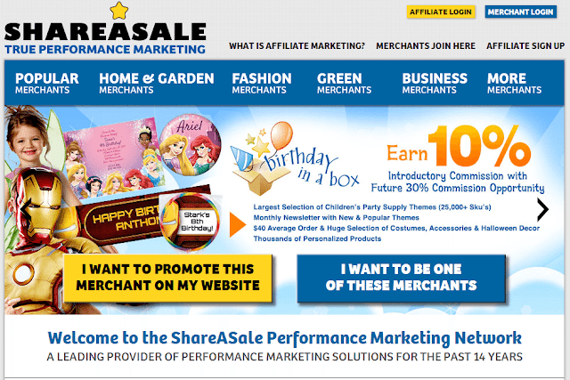Top 10 Affiliate Programs for Bloggers : ShareASale Affiliate program : Devil Coded