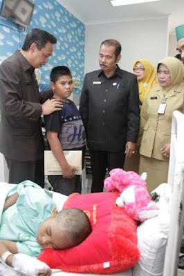 Wagub Doakan  Siti Fatimah Cepat Sembuh