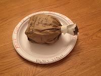 Paper Bag Drumstick, Food Storytime