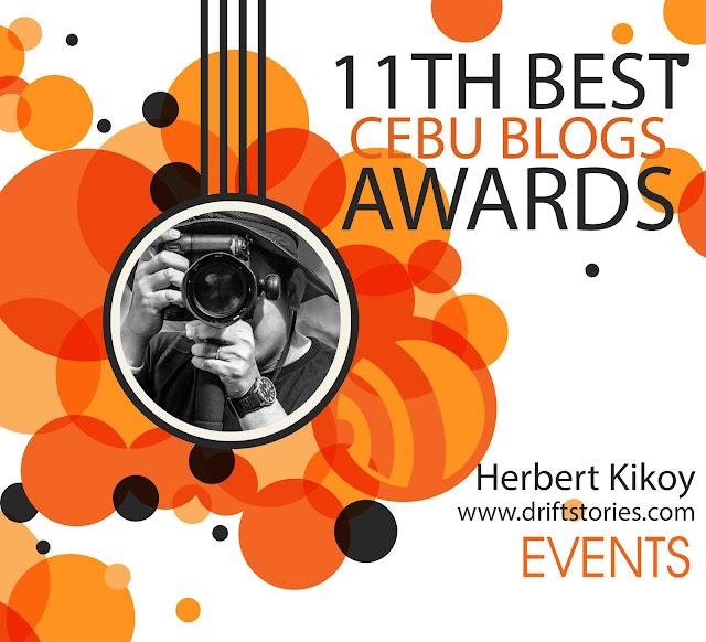 November Treat: 11th Best Cebu Blogs Awards Finalist 2