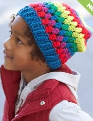 http://www.yarnspirations.com/pattern/crochet/rainbow-granny-stripes-hat-0