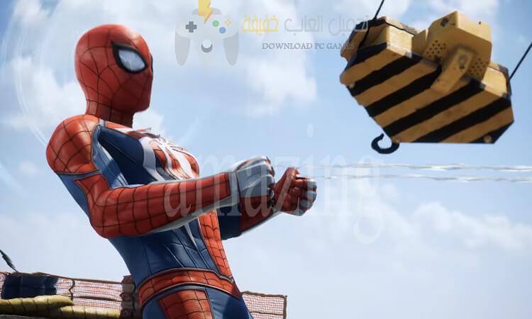 تحميل اجزاء لعبة Spider Man للكمبيوتر