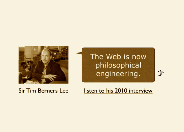 Philosophy and the social web