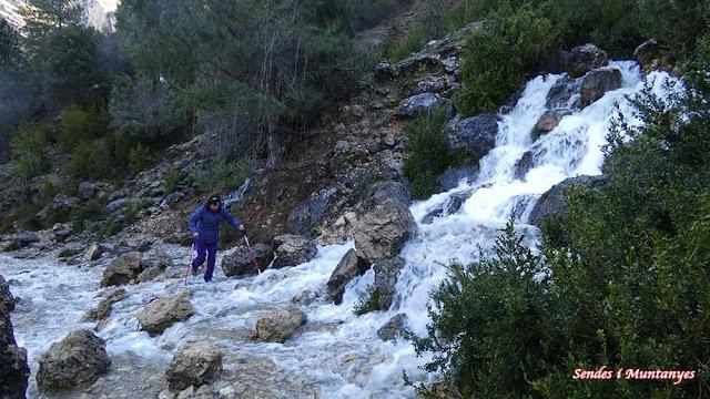 Deshielo, Nacimiento río Borosa, Pontones, Sierra de Cazorla, Jaén, Andalucía
