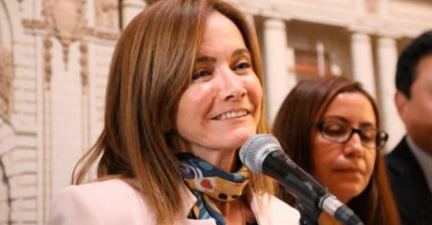 MARILÚ MARTENS: Ex ministra de Educación se pronunció tras no prosperar el pedido de vacancia presidencial «¡Ganó el Perú, ganamos todos!»