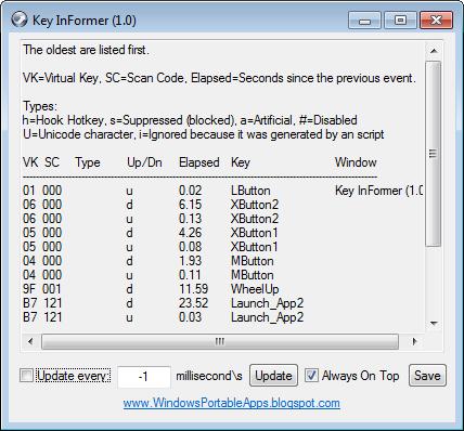 Key InFormer full screenshot