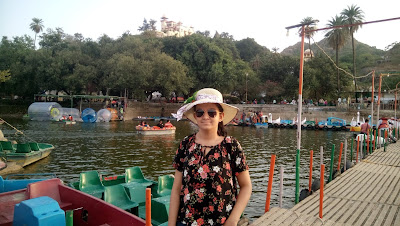 Summer Vacations in Mount Abu @ Boating in Nakki lake