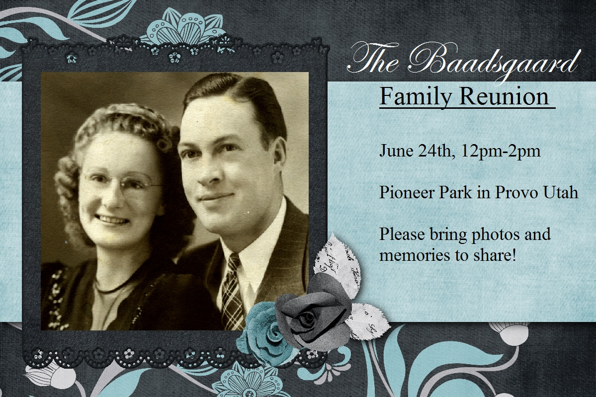 heritage collector storybook family reunion flyers invitations and