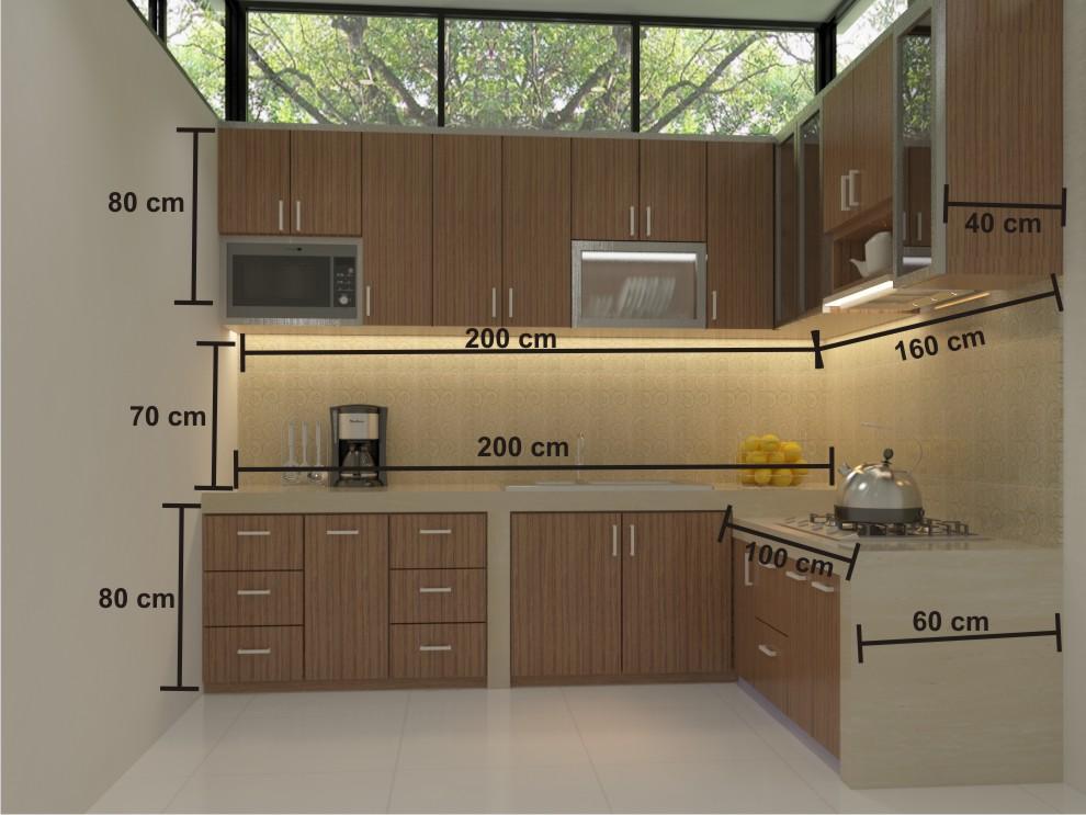 Cara Menghitung Total Biaya Pembuatan Kitchen Set Gudang Info