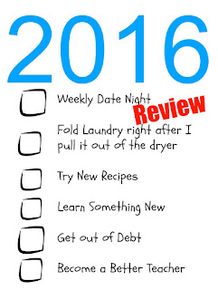 In January I shared some of my Goals for 2016, today I'm going to share a review of how I'm doing on these goals.