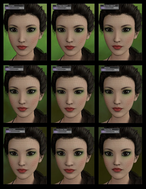 Aiko 7 Head Morph Resource Kit 1