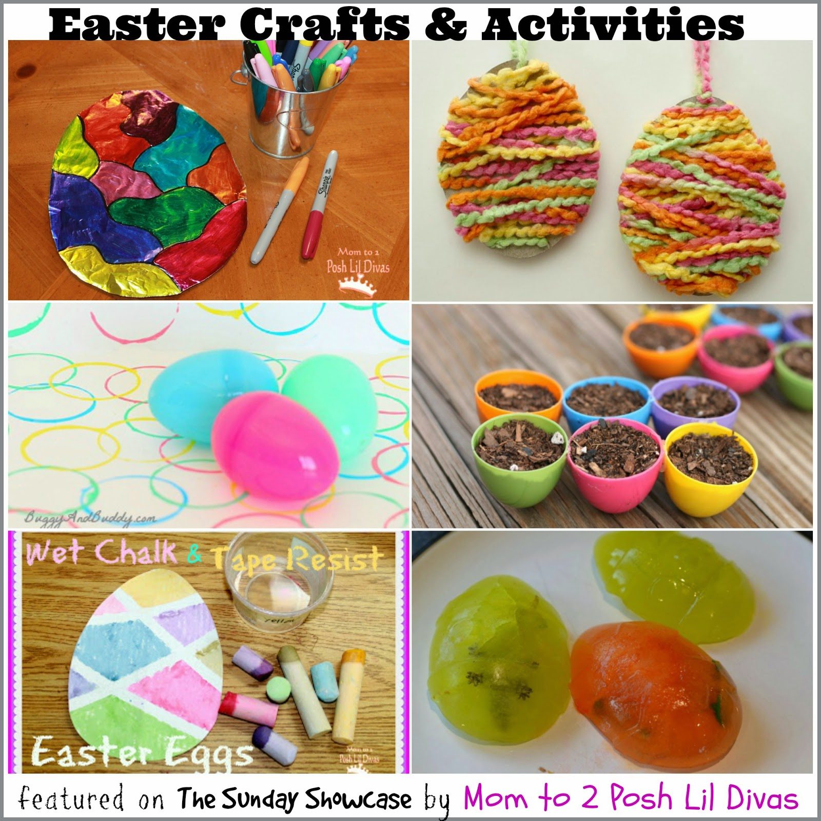 Kids Easter Egg Arts Crafts Experiments