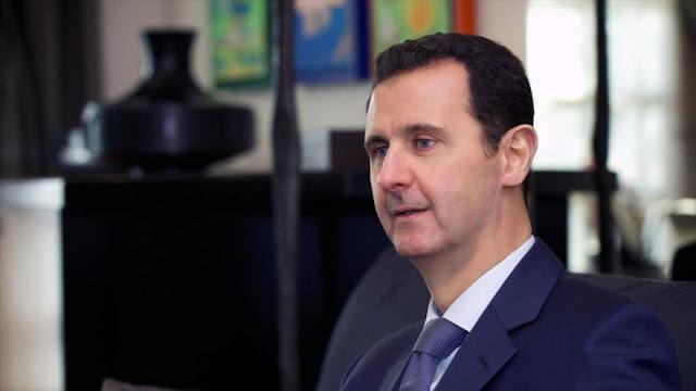 Al-Asad: Europa sufre de atentados por sus políticas erróneas