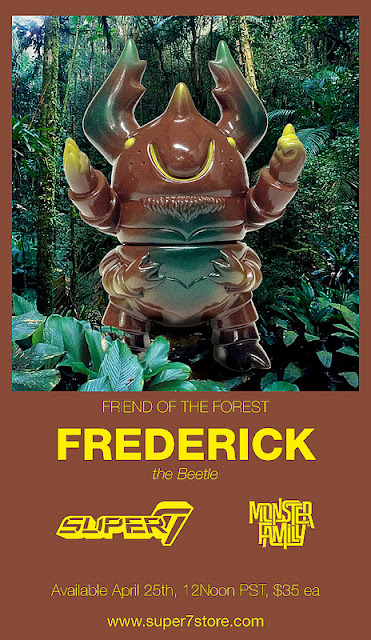 Friend of the Forest Frederick the Beetle by Bwanna Spoons