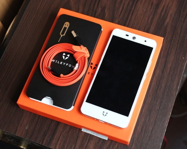 Комплектація Wileyfox Swift 2
