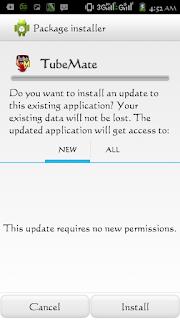 Update Tubemate terbaru Versi 2.2.8