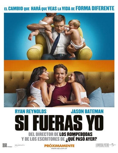 Ver Si fueras yo (The Change-Up) (2011) Online