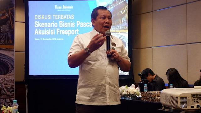 Direktur Pembinaan dan Pengusahaan Mineral Kementerian ESDM Bambang Susigit
