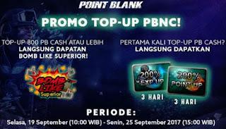 Promo Penawaran PB Garena Terbaru Hot Deals Menjelang Turnamen Regional dan Final PBNC 2017
