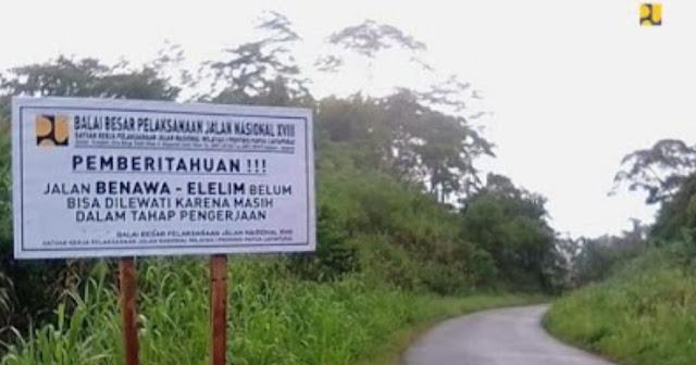 Jalan Trans Papua Ditargetkan Tersambung Tahun Ini