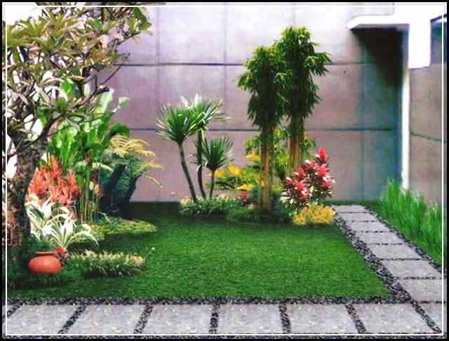 Desain Taman Minimalis Di Depan Rumah