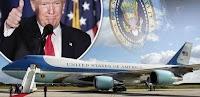 Δείτε τι συμβαίνει όταν κάποιο άλλο αεροπλάνο πλησιάσει το Air Force One του Τραμπ (video)