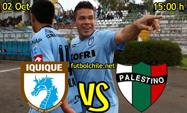 Deportes Iquique vs Palestino,