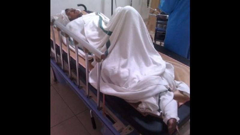 Rifqi Zaidan Muharri dirawat di RS Borromeus Bandung