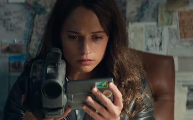 Lara Croft (Alicia Vikander) dans Tomb Raider, réalisé par Roar Uthaug (2018)