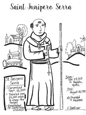Paper Dali: Blessed Junipero Serra's Canonization Day