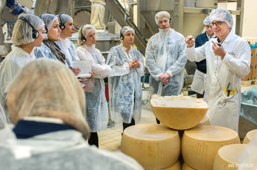 Die Qualität der Zutaten ist für die Pasta entscheidend, so Gian Luca Rana