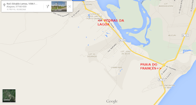 Localização: AL-215 Rodovia Edvaldo Lemos, Marechal Deodoro-AL. CEP do imóvel: 57160-000.  Pontos de referencia -Marechal Deodoro - após Denison Amorim, na rua da Sindepol.