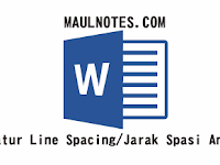 Cara Mengatur Line Spacing/Jarak Spasi Antara Baris