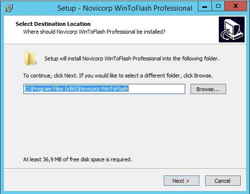 WinToFlash Professional 1.13 - عالم التقنيه