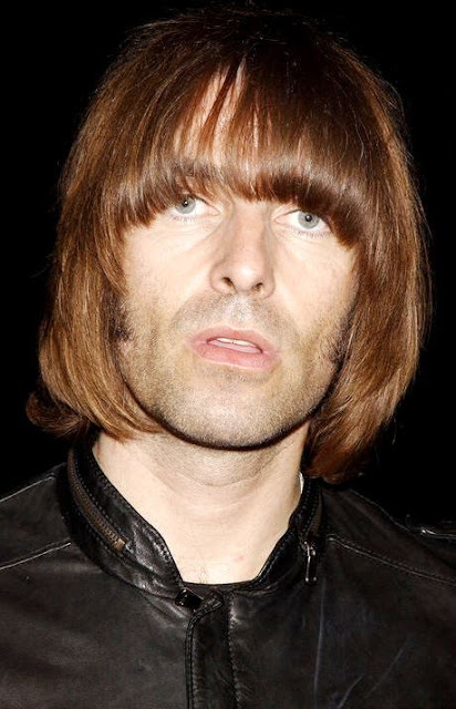Foto de Liam Gallagher con flequillo