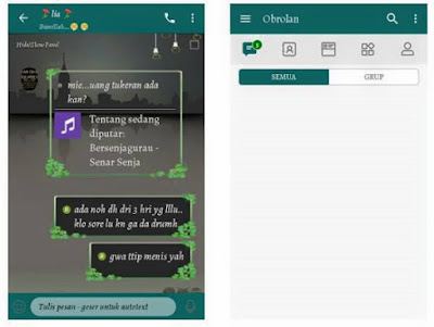 Download BBM Mod WhatsApp Theme Apk 3.3.6.51 Terbaru