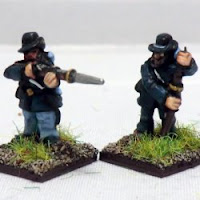 ACW9 Infantry, Hardee Hats – firing and loading.