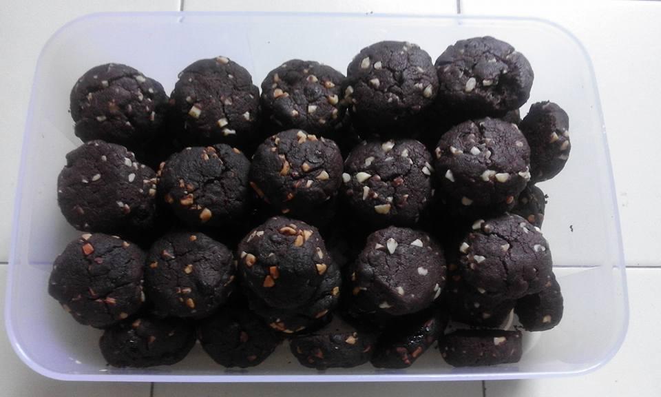 Resepi Double Chocolate Chip Cookies Mudah Inani Hazwani