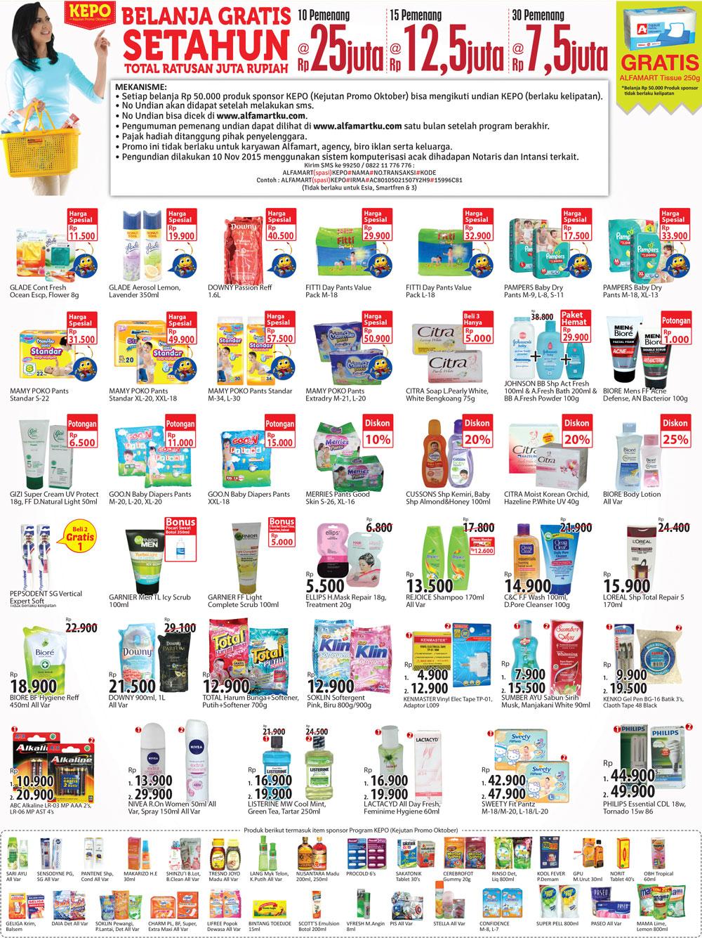 Katalog Harga dan Katalog Promo Alfamart