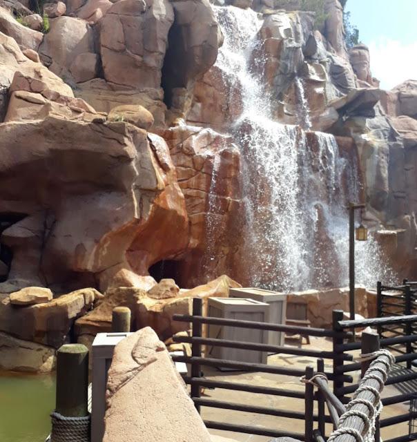 Canada World Pavilion Rockies Waterfall